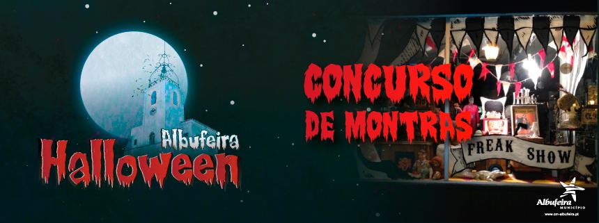 Albufeira Halloween - Concurso de Montras | Inscrições
