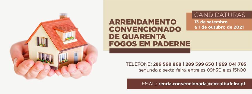 Concurso para Atribuição de Fogos em Regime de Renda Convencionada - Paderne
