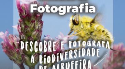 DESCOBRE E FOTOGRAFA A BIODIVERSIDADE DE ALBUFEIRA CONCURSO DE FOTOGRAFIA