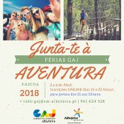 GABINETE DA JUVENTUDE ORGANIZA FÉRIAS DA PÁSCOA PARA JOVENS DE ALBUFEIRA