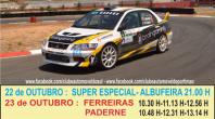 RALLY MUNICÍPIO DE ALBUFEIRA DISPUTA-SE A 22 E 23 DE OUTUBRO