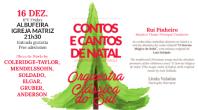 CONCERTO DE NATAL ESTE ANO DEDICADO ÀS CRIANÇAS