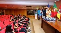 AUTARQUIA HOMENAGEIA GINASTAS DO IMORTAL DESPORTIVO CLUBE