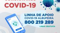 PREVENÇÃO, ACOLHIMENTO E APOIO SOCIAL SÃO PRIORIDADE PARA A AUTARQUIA DE ALBUFEIRA NO COMBATE AO COVID-19