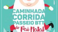 CAMINHADA E CORRIDA DO PAI NATAL INTEGRA PASSEIO DE BTT