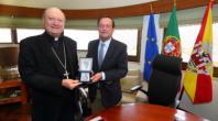 D. GIANFRANCO RAVASI MOSTRA SATISFAÇÃO PELA RECUPERAÇÃO DA IGREJA MATRIZ DE SANTA MARIA
