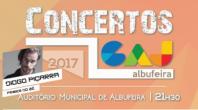 DIOGO PIÇARRA ATUA EM ALBUFEIRA NO 2º ESPETÁCULO DO CICLO DE CONCERTOS GAJ