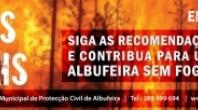 ALBUFEIRA PROMOVE SENSIBILIZAÇÃO NO ÂMBITO DO COMBATE AOS INCÊNDIOS FLORESTAIS