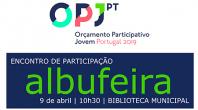 BIBLIOTECA MUNICIPAL DE ALBUFEIRA ACOLHE ENCONTRO NO ÂMBITO DO ORÇAMENTO PARTICIPATIVO JOVEM