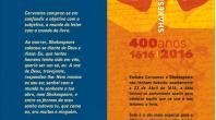 BIBLIOTECA CELEBRA 400 ANOS DE SHAKESPEARE E CERVANTES