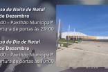 MUNICÍPIO CEDE PAVILHÃO DESPORTIVO E APOIA NA LOGÍSTICA PARA VIABILIZAR MISSAS DO GALO E DE NATAL