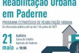 MUNICÍPIO APRESENTA PROGRAMA ESTRATÉGICO DE REABILITAÇÃO URBANA DA ALDEIA DE PADERNE
